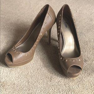 Fioni women's open toed-pumps